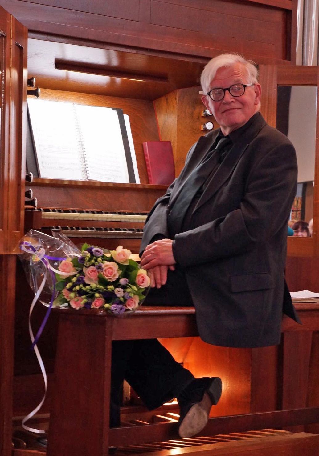 Organist Henk de Croon overleden
